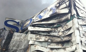 Sony&#8217;s packaging centre torched in London riots